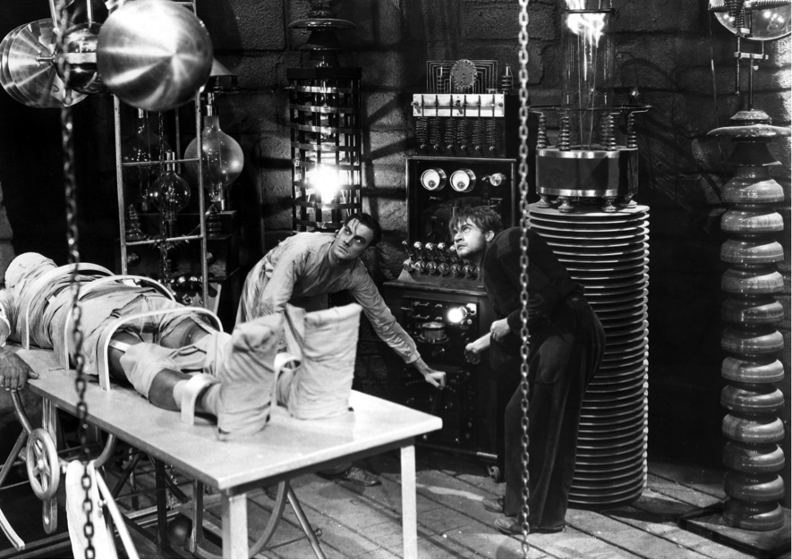 A Frankenstein Experiment aka The Man Who Changed His Mind Invisible Ghost Details