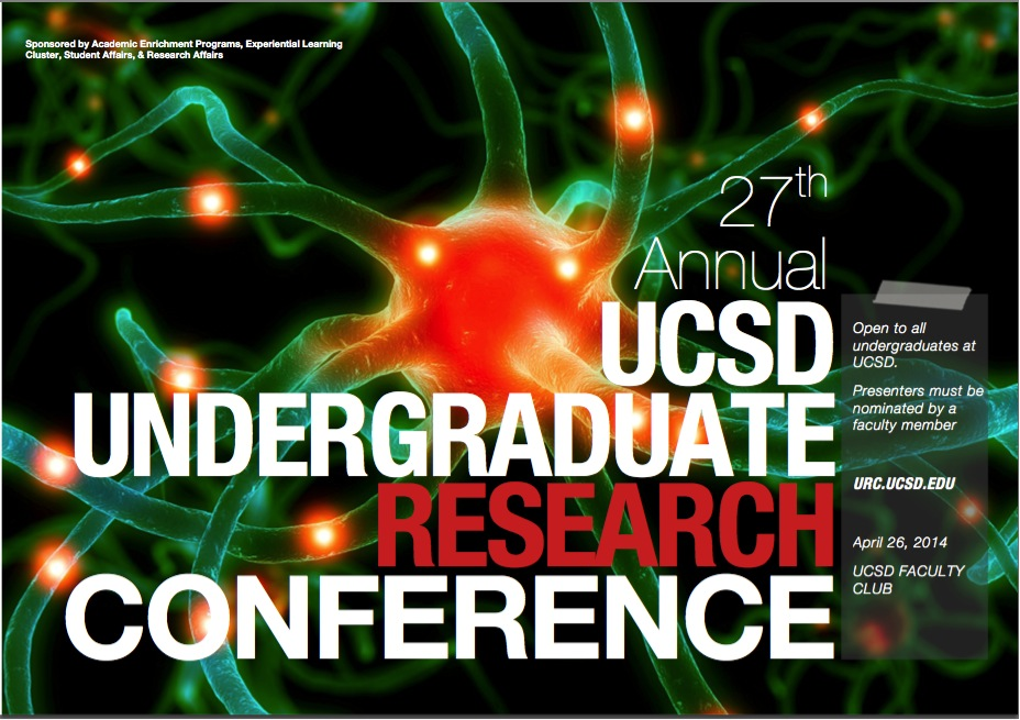Undergraduate Research Conference Poster courtesy of The Academic Enrichment Program at the University of California, San Diego