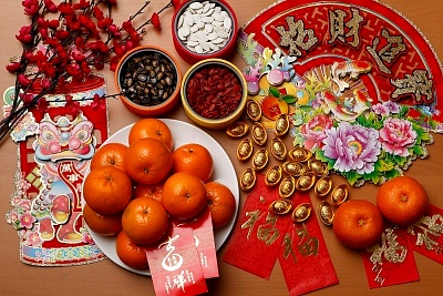 new year dishes tangerines are associated with happiness and prosperity in chinese culture oranges tangerines and similar citrus fruits are not only - Traditional Chinese New Year Food